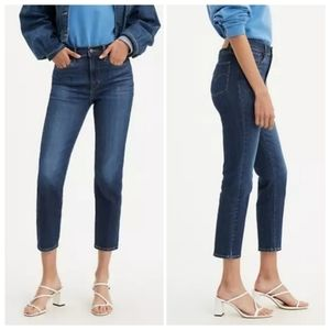 Levi's 724 High Rise Straight Leg Stretch Jeans